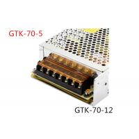 Automatically Recovers Regulated Switching Power Supply 70W DC 5A Low Power Consumption