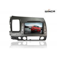 3G WiFi Honda GPS Navigation 2007 - 2011 Honda Civic Touch Screen Head Unit
