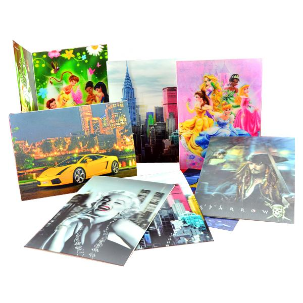 Fashion plastic 3d lenticular greeting card for gifts for sale 3d fashion plastic 3d lenticular greeting card for gifts images m4hsunfo