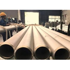China ASTM A312 Seamless Stainless Steel TubingHigh Temperature Service Application on sale