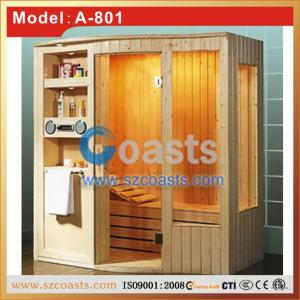 China Luxury factory price wooden sauna steam room for sale on sale
