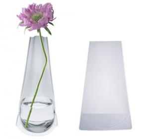 216 & Clear plastic vase pvc folding vase vase manufactory for sale ...