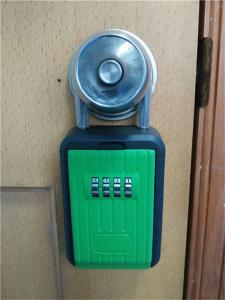 China Caixa portátil para chaves, caixa do fechamento do metal da combinação do fechamento da tecla HOME do bolso on sale