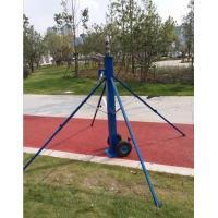 crank up mast telescopic antenna tower light pole 6 meters aluminum pole