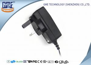 China Black 3 PIN 12V 1.5A  Wall Mount Power Adapter 18W for Radio , 100% Full Load Test on sale