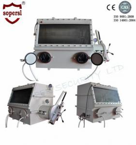 China Stainless Steel Laboratory Glove Box / Anaerobic Glove Box Medical Equipment on sale