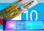 Oem Windows 10 Coa Sticker Professional Win 10 Pro COA Label online activation