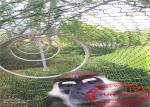 Hand Woven Stainless Steel Cable Netting Wire Mesh Security For Zoo