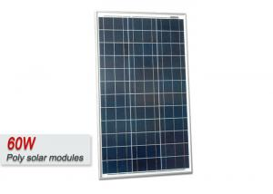 China 60w Foldable Solar Panel / Poly Solar Cells High Transmissive With MC4 Connector on sale