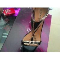 New arrival,Cow leather with metal acce. T-strap lady high heel dancing party ball sandals