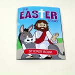 OEM Design Custom Sticker Book Printing Full Color For Childrens