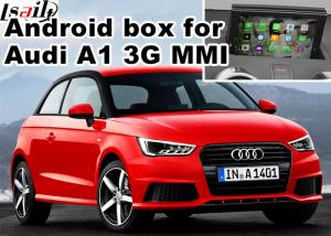 China Android navigation box interface for Audi A1 3G MMI video mirror link cast screen supplier