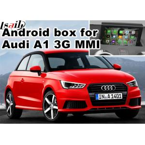 China Android navigation box interface for Audi A1 3G MMI video mirror link cast screen on sale