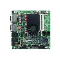 China 2 RS232 , 2 LAN Support 4 display Gaming PC MINI ITX Motherboard AMD® Trinity APU A6-4455M cpu on sale