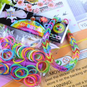 China rainbow loom triple single bracelet,rainbow loom organizer on sale