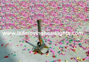 China Stage Effect Mini Confetti Blower Machine for disco club, stage performance, wedding on sale