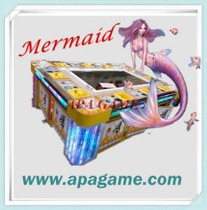 China 10P Fishing Game 3D Mermaid classical fish catching arcade game machine on sale