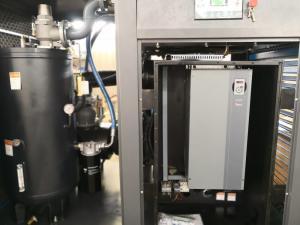 China LED Display VSD Screw Compressor With Super High Efficient Inverter Motor on sale