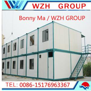 China nice steel modern kit kits container prefabricated 40 feet living shipping prefab containe on sale
