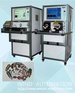 China Auto positioning  23 slots Automobile automotive car motor Starter armature testing machine WIND-ATS-02 on sale
