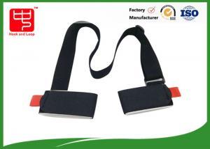 China Industrial strength Adjustable shoulder webbing ski carrying lash strap with hook and loop on sale