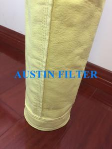 China FMS 9806 Hybrid combi-felt 850gsm,P84 Polyimide fibers dust filter bag on sale