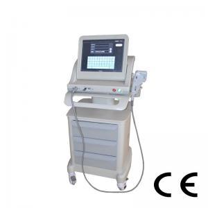 China Portable Hifu Machine Beauty Equipment Superficial Deel Dermis And SMAS on sale