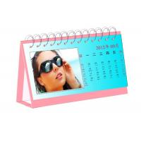 Matt Art Paper Personalized Calendar Printing Services Waterproof Poly Bag Packing