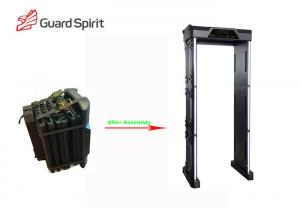 China Body Scanner Waterproof Metal Detector Door Frame Metal Detector Gate on sale