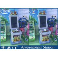 Subway parkour running kids game, coin operated parkour game machine