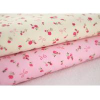 Good soft Floral Stretch Corduroy Fabric Cloth For Baby Children