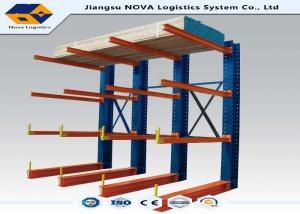 China 200 Kg Per Layer Cantilever Storage Pallet Racks , Cantilever Shelving Systems  on sale