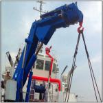 Hydraulic Knuckle Boom Crane Installation Manufacturer Marine Ship Deck Crane