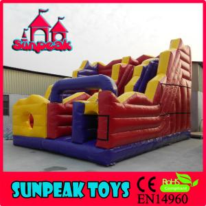 China SL-365 For Kids Fun Inflatable Jumping Slide on sale