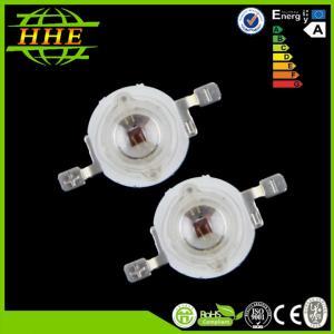 China 850nm IR llevó el diodo para el monitor del CCTV, alambre puro 350mA 1w LED infrarrojo del oro 1.5mil 99,9% on sale