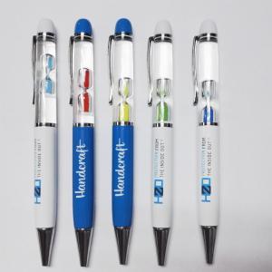 China High Quality Professional Custom Logo Promotional 3D Liquid Floating Pen on sale