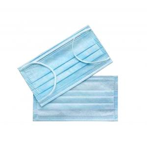 China Multi Colored 3 Ply Disposable Face Mask / Medical Face Mask 3 Ply Earloop on sale