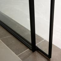 China Fluorocarbon 1.5mm Aluminum Frame Sliding Glass Doors on sale