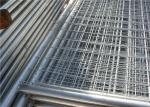 Contruction Steel Australian Temporary Fencing With Square / Oval / Round Pipe