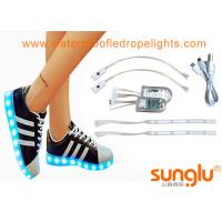 China Different colors LED Shoe Light , Sole Footwear Decoration , LED Flashing Shoes on sale