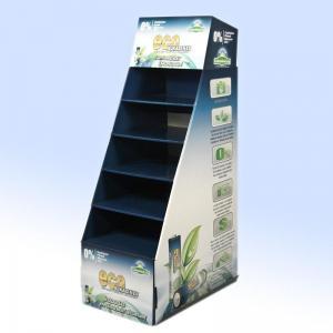 China Corrugated Display Shelf on sale