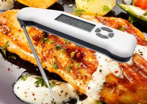 China ABS Plastic Housing Digital Food Thermometer With 1.8mm Fine Tip For Grill Oven Smoker on sale