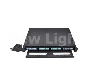 China 96 core LC - MPO male fiber optical distribution box or  FTTH distribution box on sale