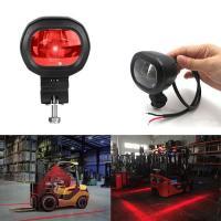 LED Warning Light Shines Red Stripe On Ground Construction Red Zone LED Forklift Light