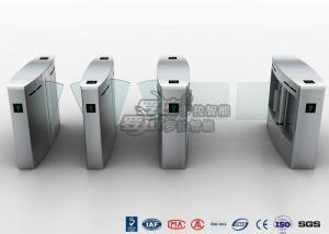 China Half High Turnstile Security Systems , Swing Gate Flap Barrier Turnstile on sale