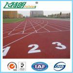 A pista de atletismo elástica surge assoalhos de Polyurethaning do deslizamento do revestimento para pavimento de borracha do plutônio anti
