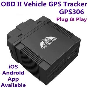 China GPS306 OBD II Car Vehicle Security GSM GPRS GPS Tracker + Car On-Board Diagnostics Trouble-Shoot Tool W/ iOS/Android App on sale