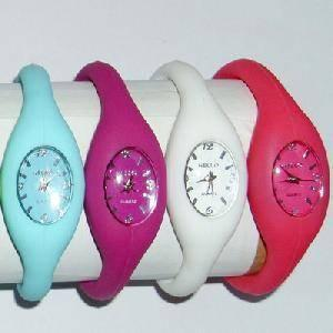 China silicone ion watch on sale