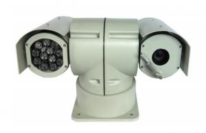 China IR Night Vision Vehicle PTZ Camera 1/4'' Sony CCD 36X Optional Zoom on sale
