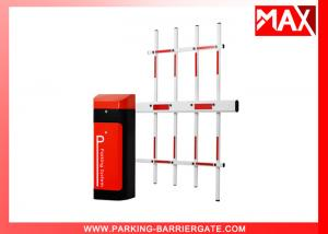 China Intelligent Vehicle Smart Parking Barrier , Car Parking Gate With 3 Fence Boom on sale